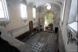 Interno dell'Oratorio di Santa Maria del Sabato