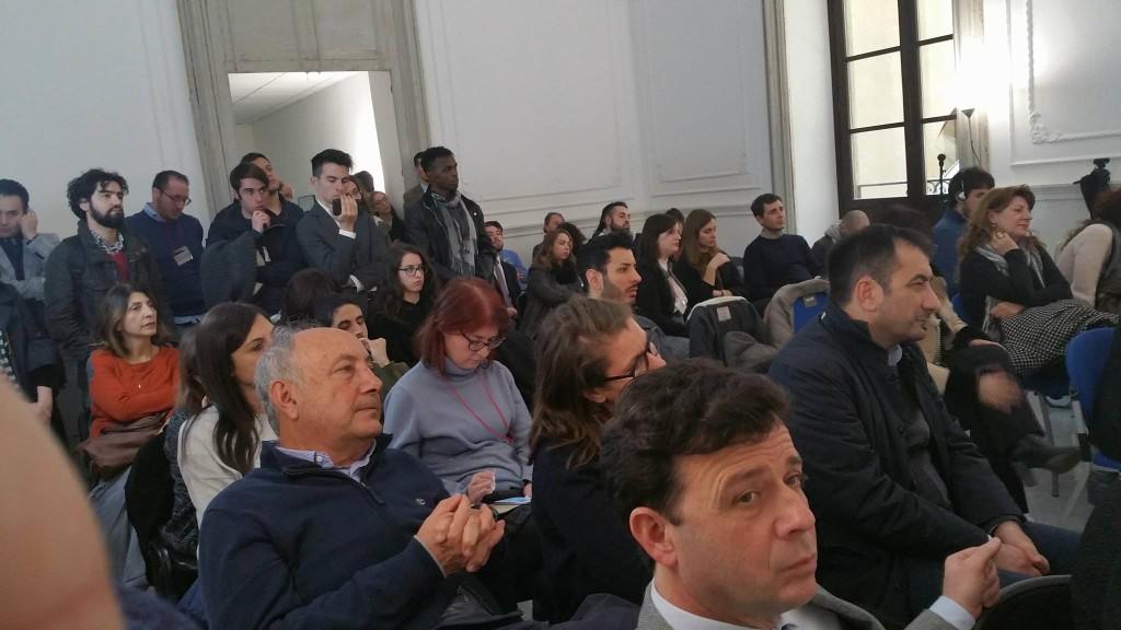 Sofia Corradi all'ERSU Palerrmo