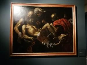 Cristo morto trasportato al sepolcro di Giovan Battista Caracciolo