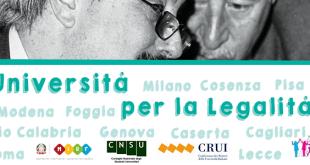 """""""Le Università per la Legalità"""", al via la seconda edizione del progetto della Fondazione Falcone"""