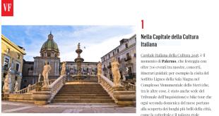 Palermo e bike tour, i consigli di Vanity Fair
