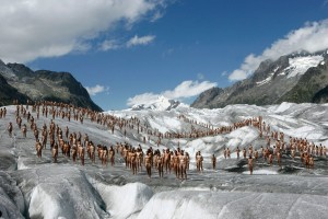 SPENCER TUNICK Switzerland, Aletsch Glacier 1_preview
