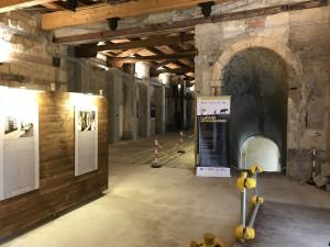 Nella foto la mostra all'interno del Mulino Storico del Complesso monumentale di Sant'Antonino, a Palermo. fonte: siciliainformazioni.com