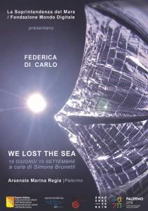Locandina We lost the sea