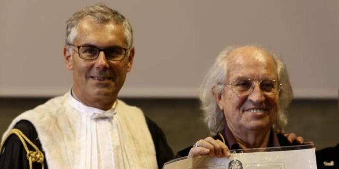 da sinistra: Fabrizio Micari e Vittorio Storaro