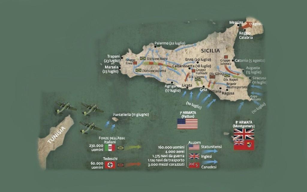 Mappa-Operazione-Husky-in-Sicilia
