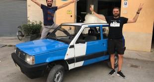 """Da Palermo a Pechino col Pandino. La """"folle idea"""" di tre giovani siciliani"""