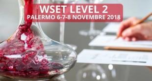 Corso sul vino in lingua inglese, il 6, 7 e 8 novembre a Palermo