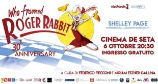 Chi ha incastrato Roger Rabbit: proiezione del film in occasione del 30° anniversario
