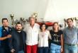 Società Canottieri Palermo (da sin.: Roberto Fiore, Francesco Cappello, Eduardo Traina, Giorgia Lo Bue, Serena Lo Bue, Benedetto Vitale)