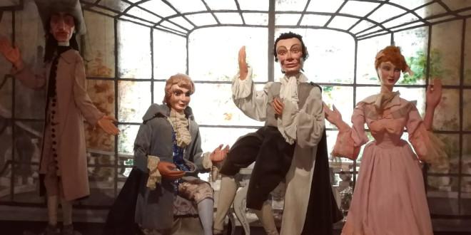 Marionette a fili del Barbiere di Siviglia