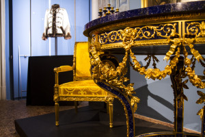 Table After drawing by Ippolito Monigetti. Peterhof Lapidary Works, St Petersburg, Russia, 1856 Bronze, lapis lazuli 2