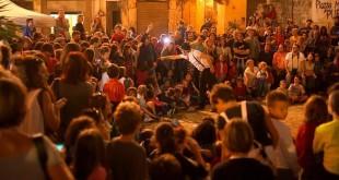 Il circo di strada per le vie di Ballarò