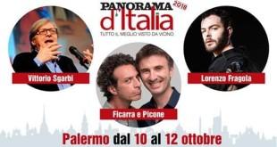 """Sbarca a Palermo """"Panorama d'Italia"""": Tre giorni ricchi di appuntamenti e ospiti"""