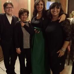 da sx: Marco Betta, Donatella Sollima, Olivia Sellerio, Marianna Amato