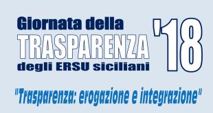 ERSU, il 5 dicembre Trasparenza-day 2018