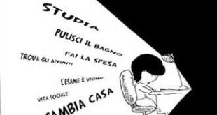 Dal fumetto «La studentessa fuori sede» di Antonio Baldassarro