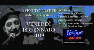 """Effetto Notte"" Italian Swing System per Brass at Spasimo"