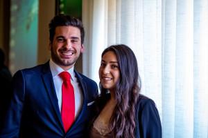 i neolaureati Greta Pecora e Giuseppe Alia