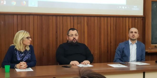 da sx Giusy Fabio, Francesco Cappello, Filippo Macaluso