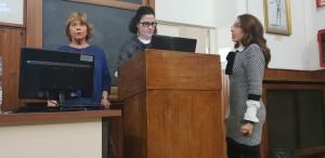 le chinesiologhe Lidia Mazzola, Donatella Bonafede, Letizia Fedele