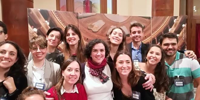 foto maria chiara prodi e delegati