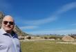 Il professor Giulio Taglialatela della UTMB (USA) in visita a Portella della Ginestra (Palermo)