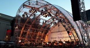 Wiener Symphoniker- Hauphof, Museums Quartier - Ph. Erika Giannusa