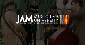 Logo del JAM MUSIC LAB - Immagine tratta dal sito: https://www.jammusiclab.com/