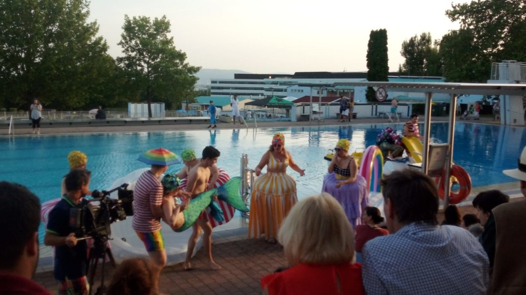 Momento dell'Operetta die Fledermaus - Wir sind Wirn Festival. Ph. Erika Giannusa