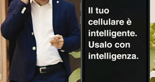 Il telefono cellulare è intelligente usalo con intelligenza