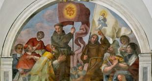 Gli affreschi ritrovati del Chiostro del complesso monumentale Sant'Antonino