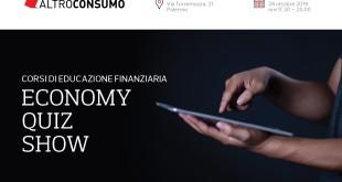 Economy Quiz Show, evento Altronsumo su gestione e programmazione delle risorse