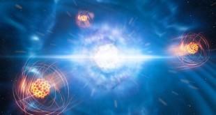 Dalla collisione tra stelle di neutroni l'identificazione di un elemento pesante