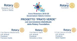 """Progetto """"Prato Verde"""": il Rotary dona un trattore tagliaerba al Parco Uditore"""
