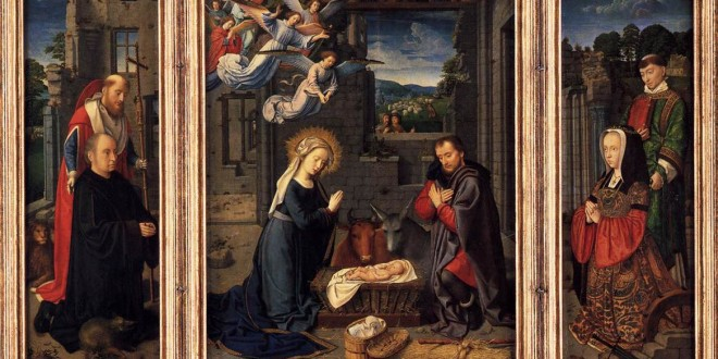 Natività di Gerard David,  1505 (Metropolitan Museum of Art - N.Y., USA)