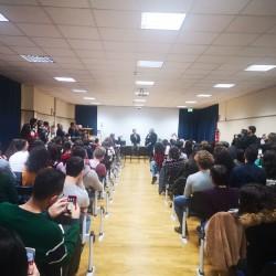 Incontro Gioè studenti universitari del Santi Romano
