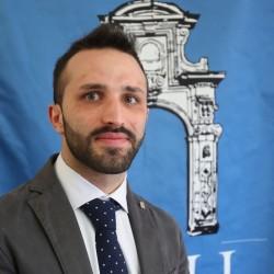 Emanuele Nasello rappresentante degli studenti universitari e dell'alta formazione artistica e musicale della Sicilia occidentale.