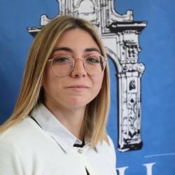 Adelaide Carista rappresentante degli studenti universitari e dell'alta formazione artistica e musicale della Sicilia occidentale.