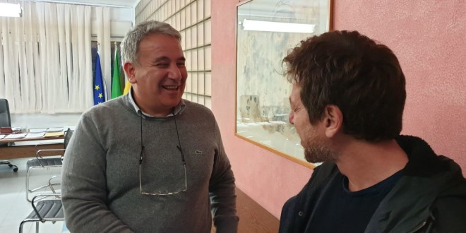 da sinistra Giuseppe Di Miceli e Claudio Gioè