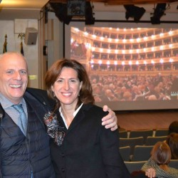 Foto della diretta dalla Casa Italiana a New York DSC_0105