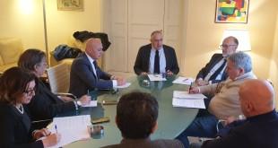 VERTICE DELL'ASSESSORE ROBERTO LAGALLA CON TUTTI GLI ERSU SICILIANI