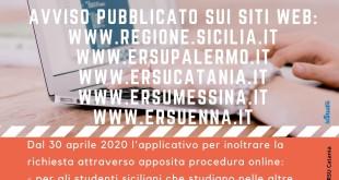 Coronavirus: È Online Il Bando Della Regione Per Gli Studenti Universitari Siciliani Fuorisede