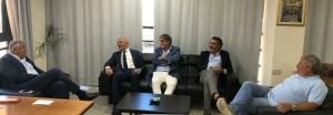 Un momento dell'incontro dei presidenti Ersu siciliani con l'assessore regionale Roberto Lagalla