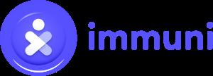 Immuni Logo - 3D version - Horizontal