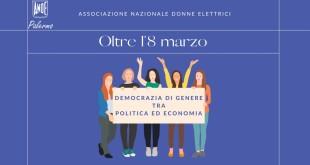 UN WEBINAR SU DIRITTI POLITICI E PARITA' DI GENERE, IMPRENDITORIA FEMMINILE E RECOVERY FUND. ORGANIZZA L'ANDE