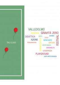 Gravità zero, tag cloud © INTO THE SKY, 2021