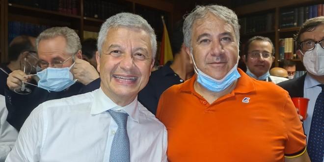 Nella foto al centro Massimo Midiri e Giuseppe Di Miceli