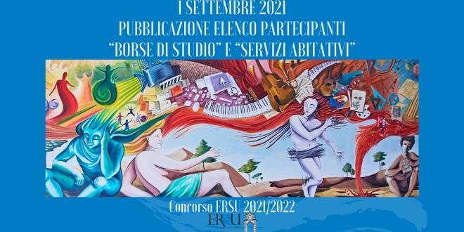 """1 SETTEMBRE 2021 Pubblicazione elenco partecipanti """"Borse di studio"""" e """"Servizi abitativi"""" (2)"""